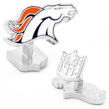 Denver Broncos Palladium NFL Cufflinks