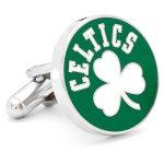 Retro Boston Celtics Cufflinks