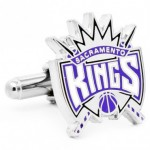 sacramento kings nba cufflinks
