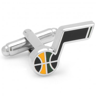 utah jazz nba cufflinks