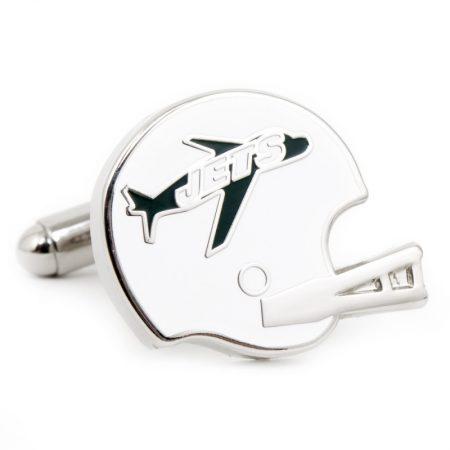 Retro New York Jets Helmet Cufflinks