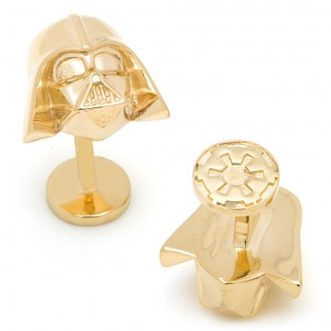 Special Edition 14K Gold Darth Vader Cufflinks