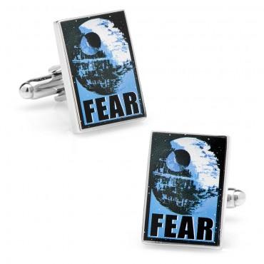 Fear Propaganda Poster Cufflinks