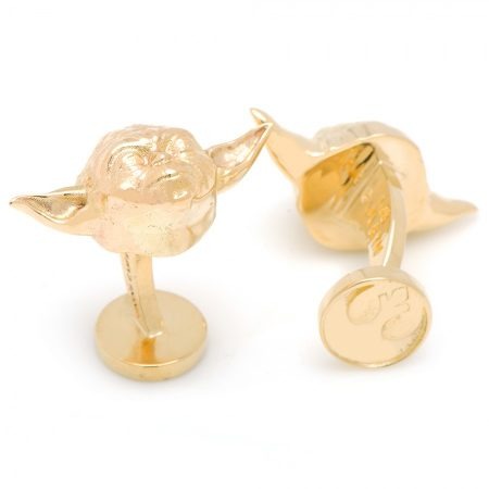 Special Edition 14K Gold Yoda Cufflinks