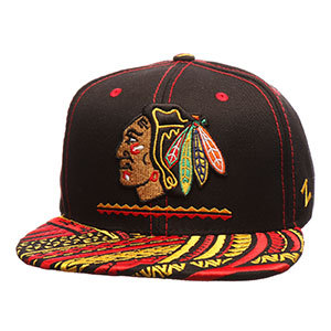 Chicago Blackhawks NHL KONA Cap