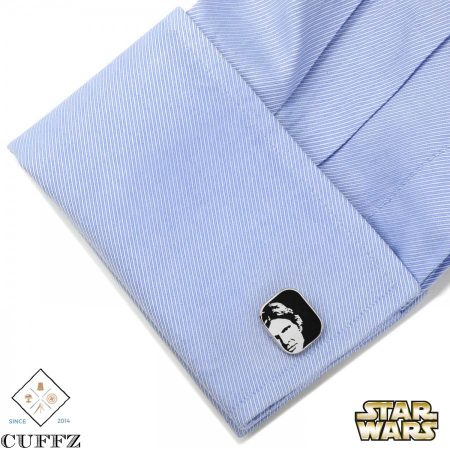 Luke and Han Solo Cufflinks
