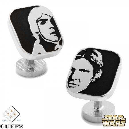 Luke and Han Solo Cufflinks
