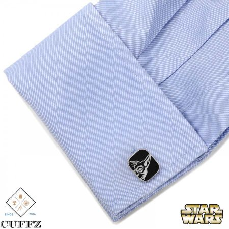 Luke and Yoda Cuff links