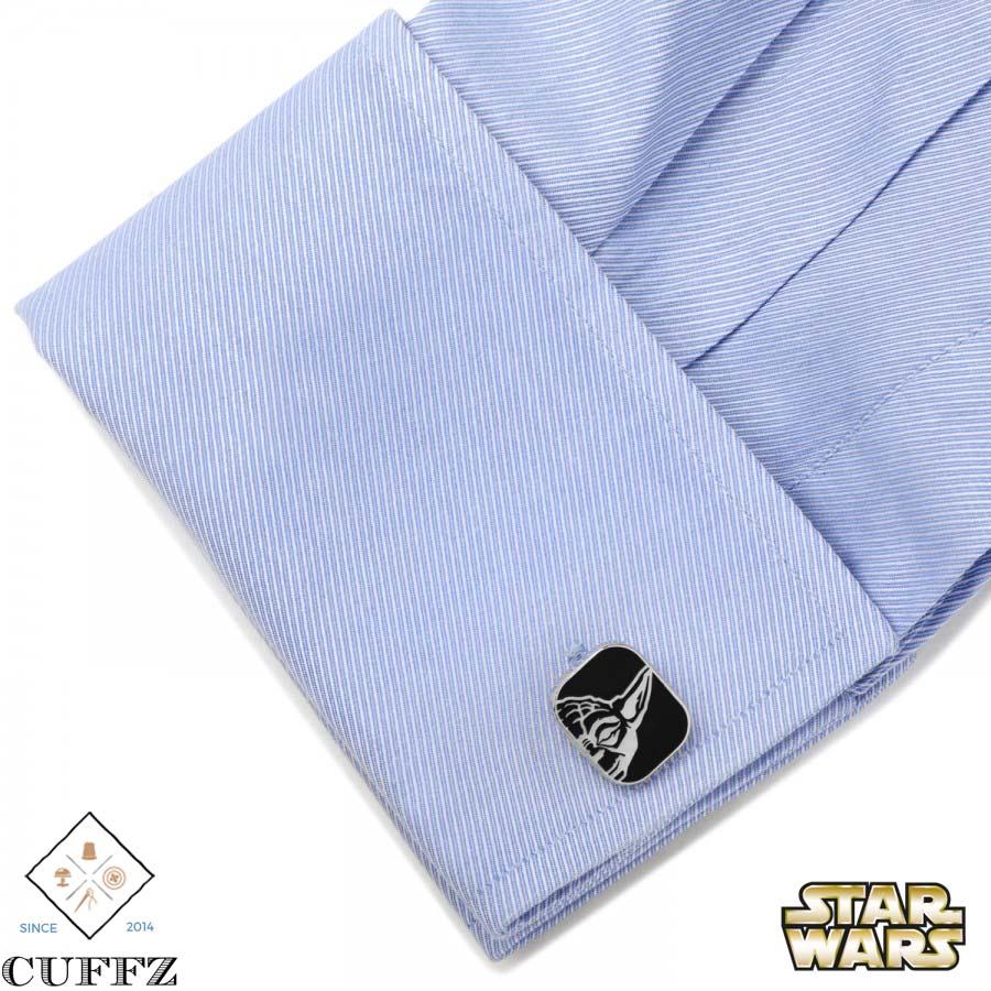 Luke and Yoda Cuff links