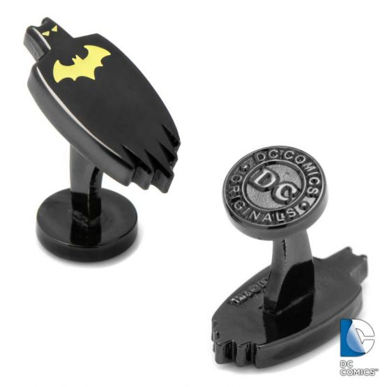 Glow in the Dark Batman Cape Cufflinks