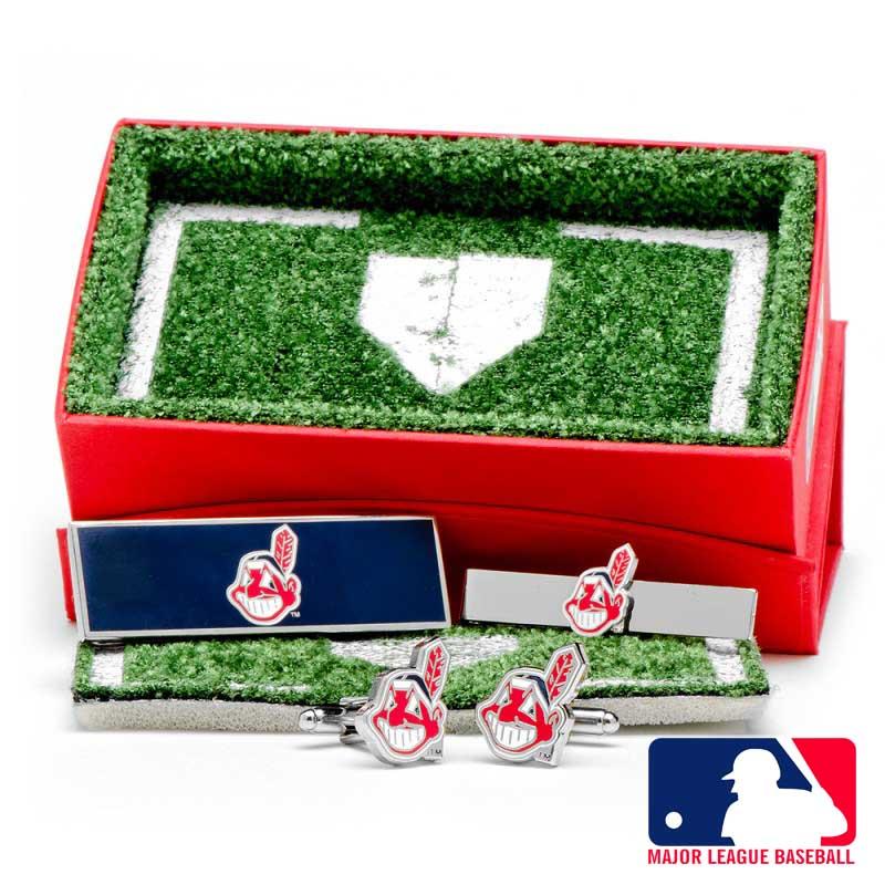 Cleveland Indians 3-Piece Gift Set
