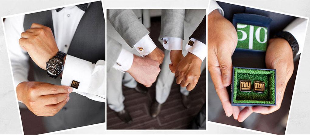 Wedding cufflinks for groomsmen