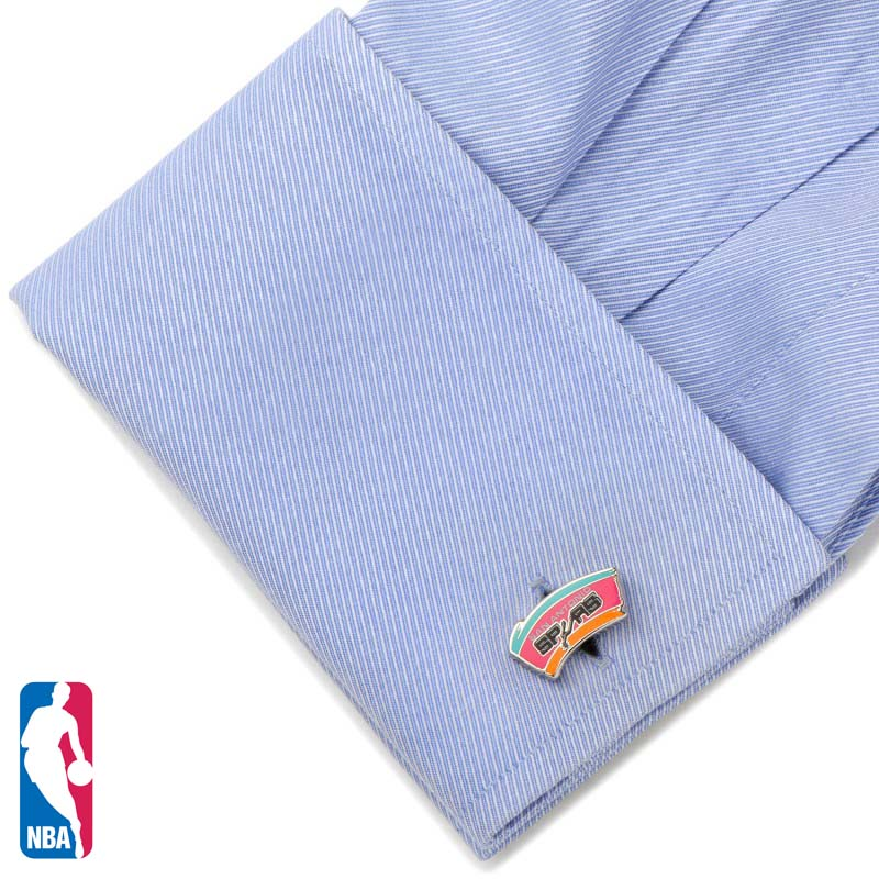 Retro San Antonio Spurs Cufflinks