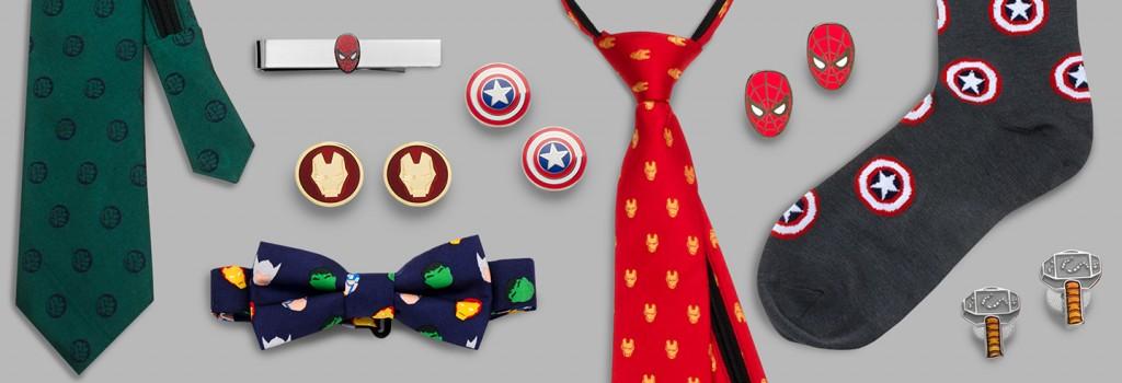 Superheroes cufflinks