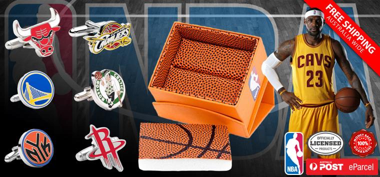 NBA cufflinks
