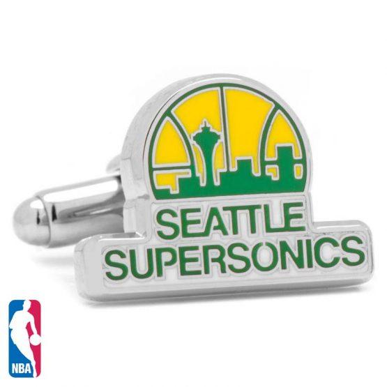 Seattle Supersonics Cufflinks