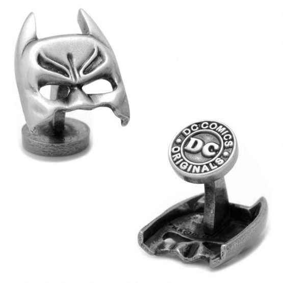 Silver Batman Mask Cufflinks