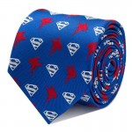 Superman Blue Tie