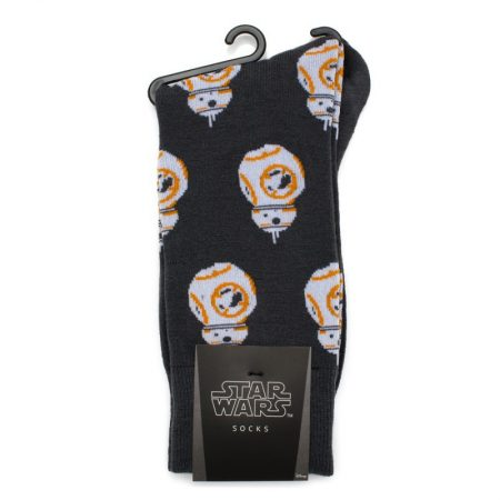 BB-8 Gray Socks