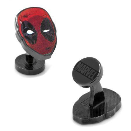 Deadpool Mask Cufflinks