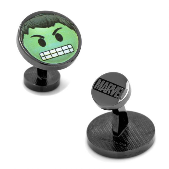 Hulk Emoji Cufflinks