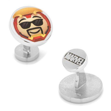 Iron Man Emoji Cufflinks