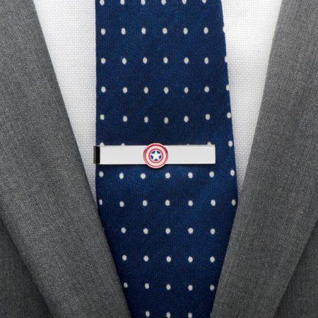 Captain America Icon Tie Bar