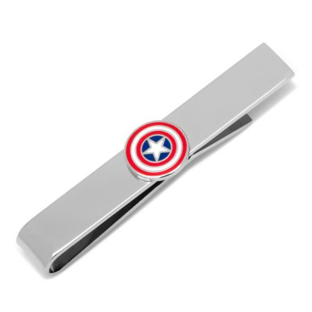 Captain America Icon Tie Bar
