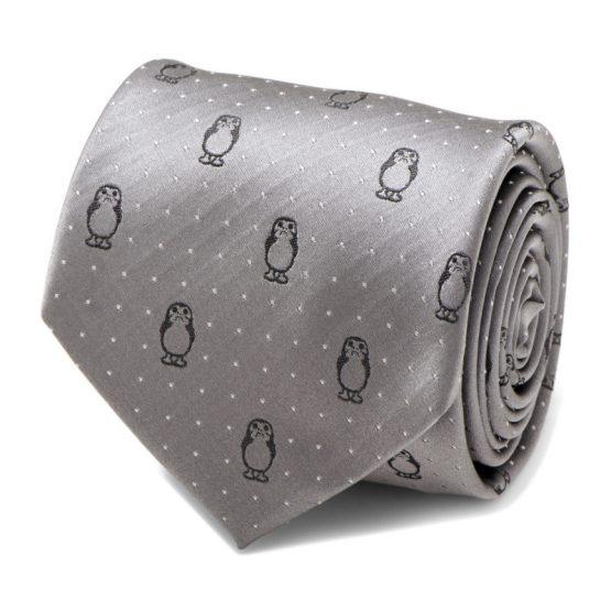 Porg Dot Mens Tie