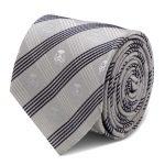 Stormtrooper Gray Plaid Tie