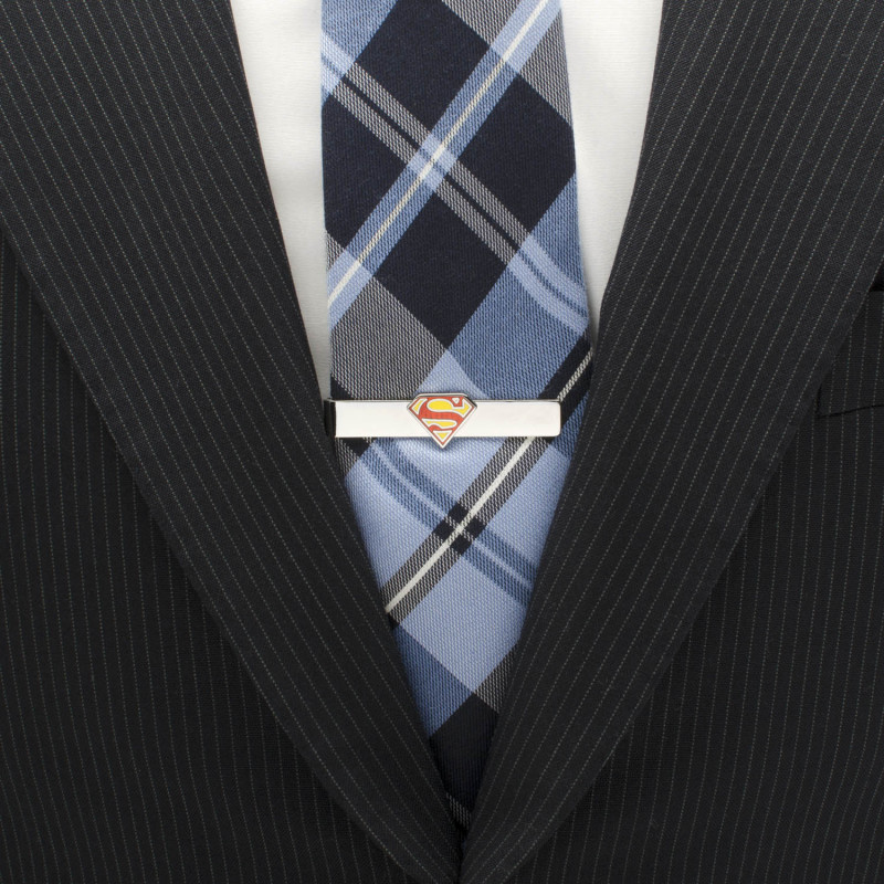 Superman Shield Tie Bar