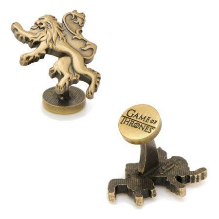 Lannister Lion Sigil Cufflinks
