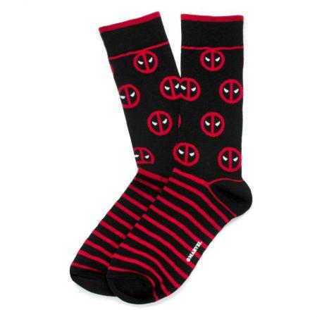 Deadpool Stripe Black Socks